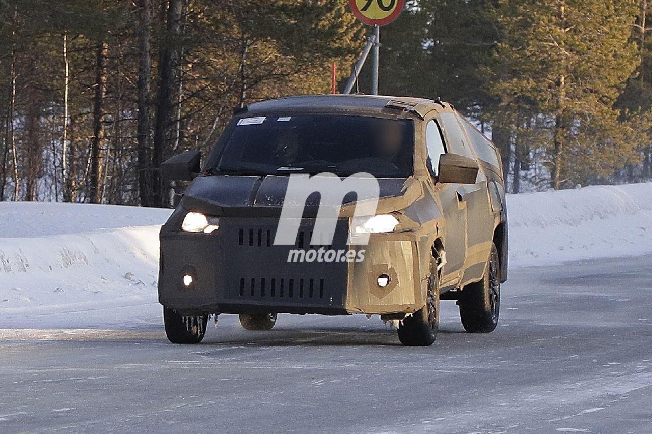 El Fiat Mobi Pick-up reaparece en unas nuevas fotos espía en las pruebas de invierno