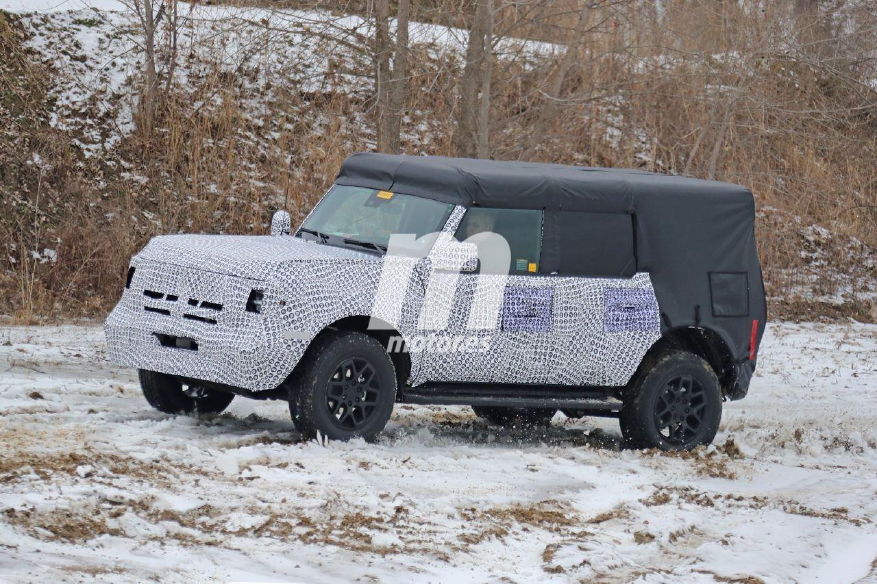 Ford comienza las pruebas del Bronco de 4 puertas que llegará en 2021