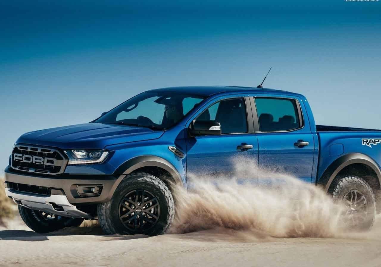 La Ford Ranger Raptor montará el motor V8 del Mustang GT con 450 CV