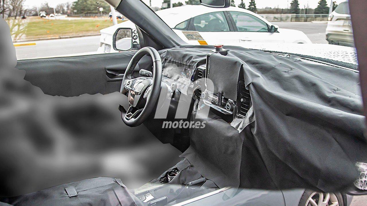 El interior del nuevo Ford Bronco 2021 parcialmente al descubierto