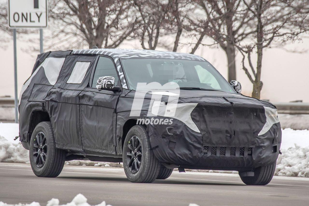 Cazan nuevamente al Jeep Wagoneer 2021 en pruebas por Estados Unidos