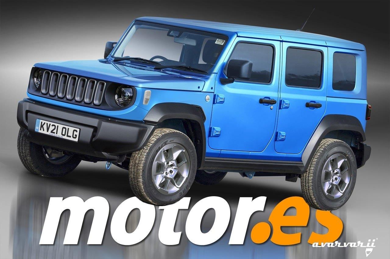 Jeep prepara un rival para el Suzuki Jimny que llegará en 2021