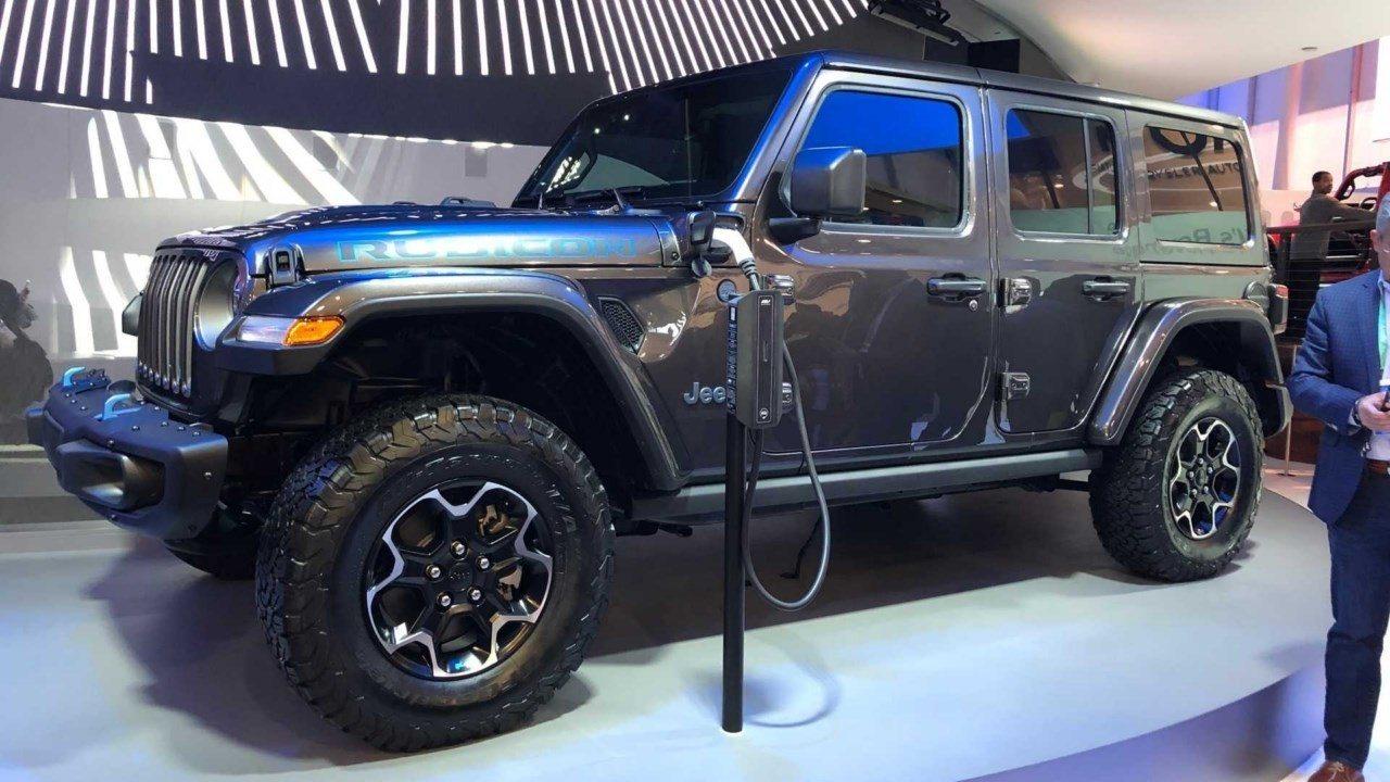 Jeep Wrangler 4xe, la versión híbrida enchufable se estrena en el CES 2020
