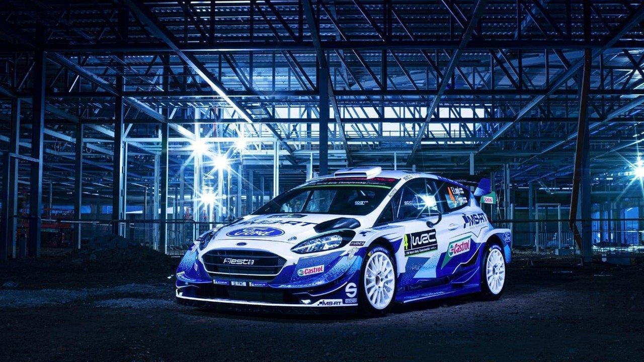 M-Sport desvela la librea con aire 'retro' de sus Ford Fiesta WRC de 2020