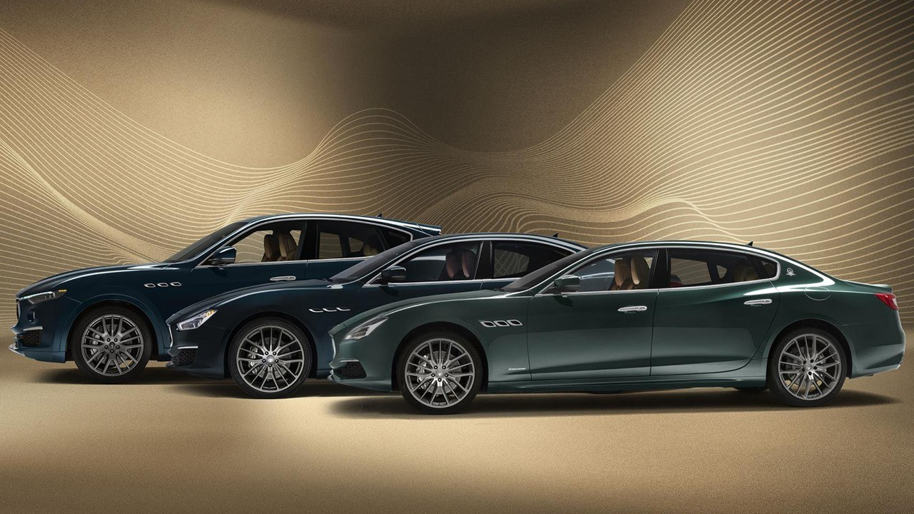 Maserati presenta la edición Royale para el Quattroporte, Levante y Ghibli