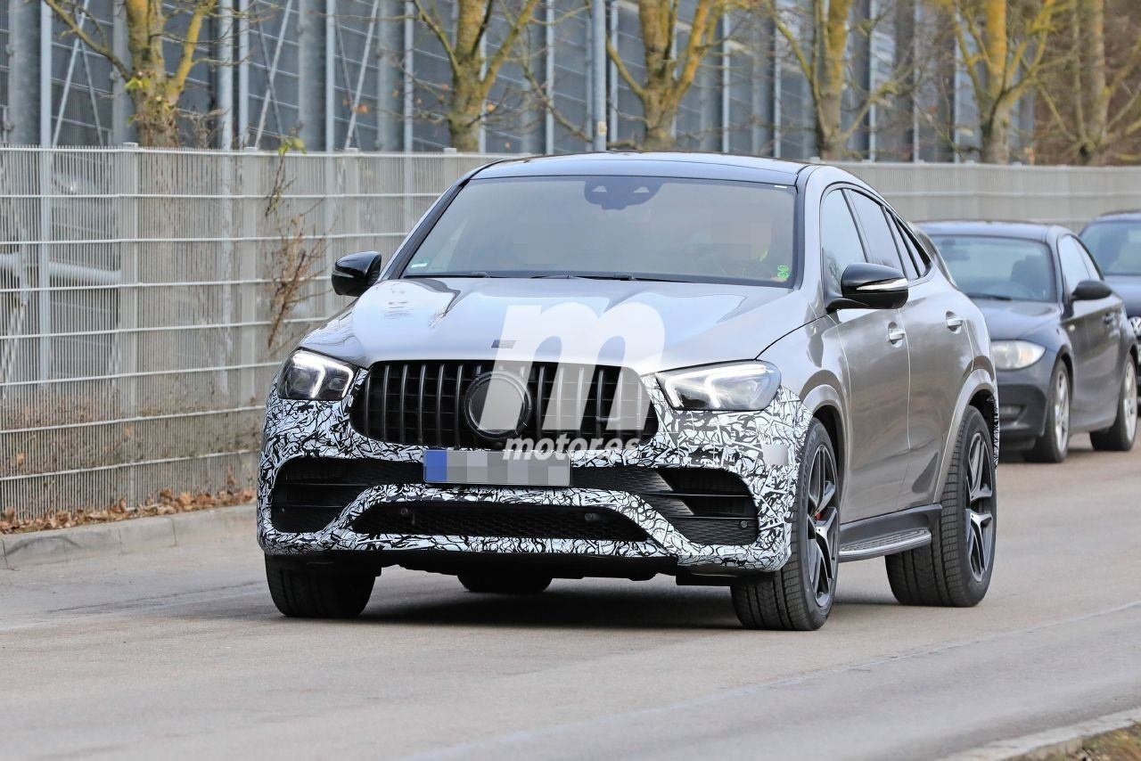Nuevas fotos espía del Mercedes-AMG GLE 63 Coupé 4MATIC destapan al SUV deportivo