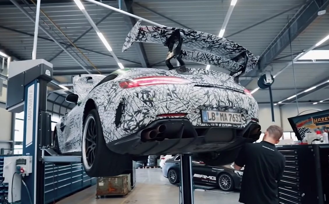 Dos teasers anuncian el debut del Mercedes-AMG GT R Black Series en 2020