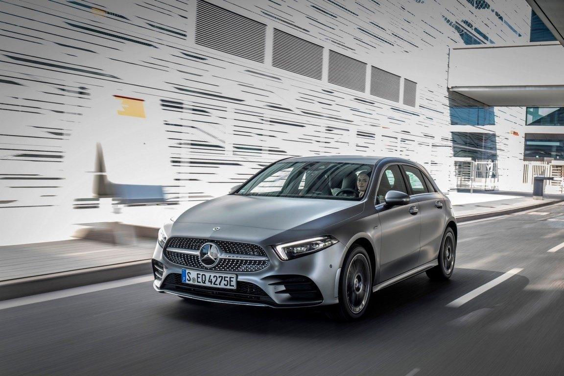 El nuevo Mercedes Clase A 250 e llegará a Alemania en el primer trimestre de 2020