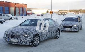 La quinta generación del Mercedes Clase C, prevista para 2021, reaparece en las pruebas de invierno