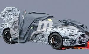 Mercedes SL 2021, cazada la nueva generación del descapotable de lujo