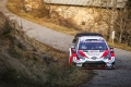 Accidente de Tänak en un Rally de Montecarlo en el que manda Evans