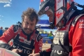 """Alonso vive la dureza del Dakar: """"Hemos chocado contra algo por el polvo"""""""