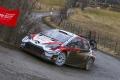 Elfyn Evans resiste los ataques de Ogier en el Rally de Montecarlo