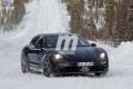 Prototipos del Porsche Taycan Cross Turismo 2021 comienzan a destaparse en el frío invierno