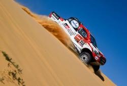 """Alonso, con mayor ritmo y consistencia: """"Me encuentro mejor en las dunas"""""""