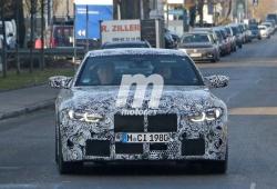 El nuevo BMW M4 Coupé 2021 empieza sus pruebas en carretera pública