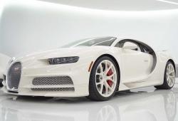 Nuevo Bugatti Chiron Hermès Edition: 6 millones de lujo y exclusividad en color blanco