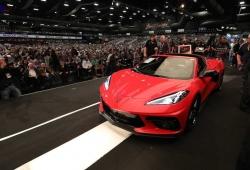 El primer Chevrolet Corvette C8 subastado por 3 millones de dólares