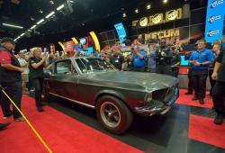 El Ford Mustang 'Bullitt' se convierte en el Mustang más caro de la historia