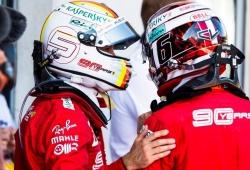 Leclerc se deshace en elogios hacia Vettel: «Aprendí mucho, es extremadamente profesional»
