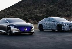 Adelanto del Mercedes EQS, la berlina de lujo 100% eléctrica que está en camino
