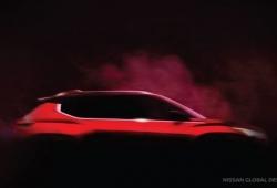 Nissan adelanta un teaser del nuevo crossover que prepara para India