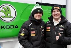 Oliver Solberg competirá bajo el paraguas de Skoda Motorsport en WRC3