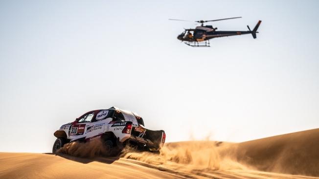 Cierra su primer #Dakar con un podio, ocho 'top 10' de etapa y en el 13º puesto final.