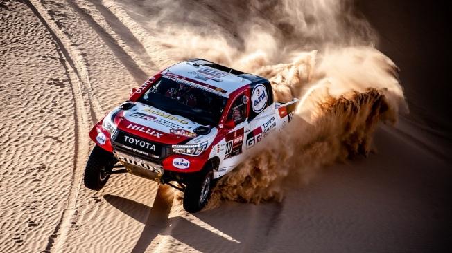 Alonso, tras acabar 13 en el Dakar 2020
