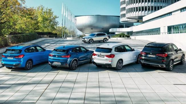 SUV híbridos enchufables de BMW