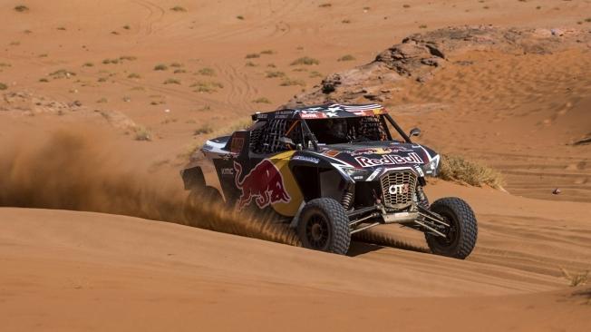 El Dakar coge velocidad de crucero con su cuarta etapa