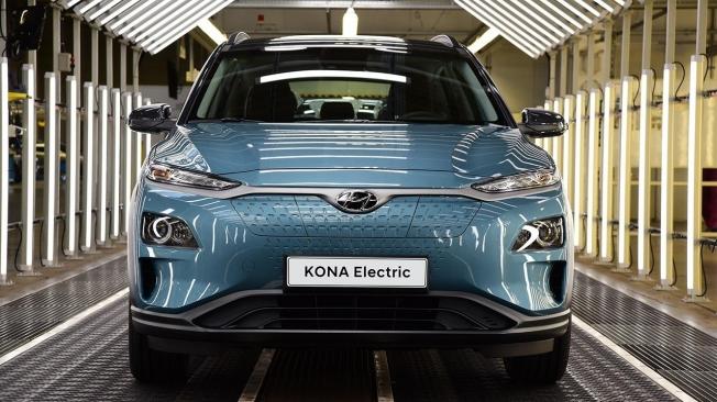 Producción del Hyundai Kona Eléctrico