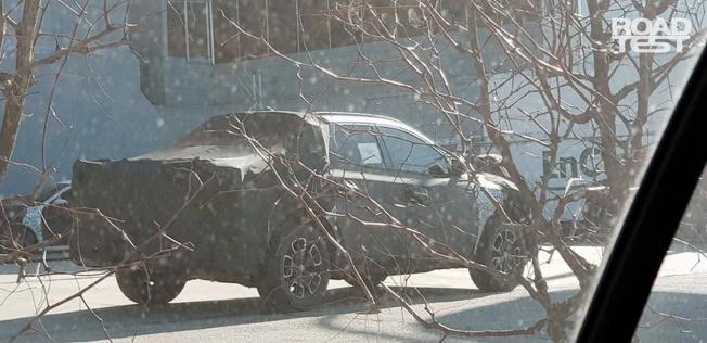 Hyundai Santa Cruz - foto espía