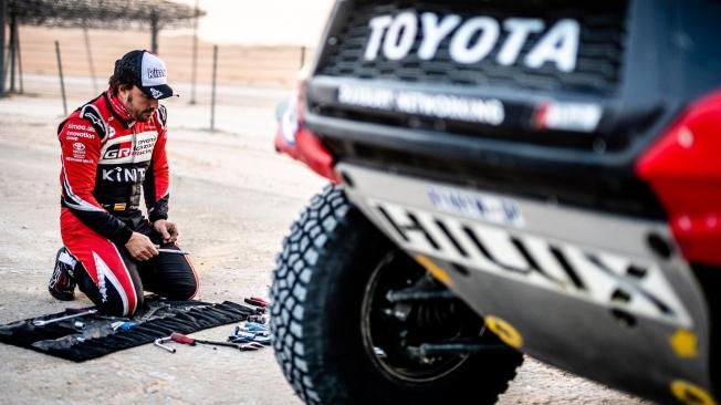 Jacky Ickx está seguro de que Alonso tiene talento para ganar el Dakar