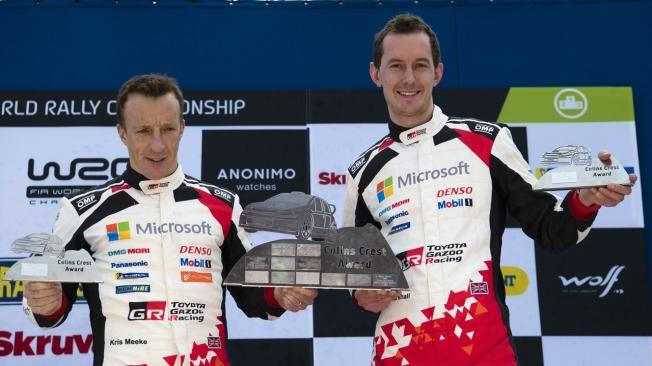 Kris Meeke asume que está fuera del WRC y pone sus ojos en el Dakar