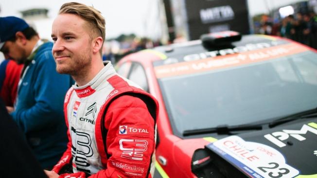 Mads Ostsberg y Yohan Rossel serán los pilotos de Citroën en WRC2