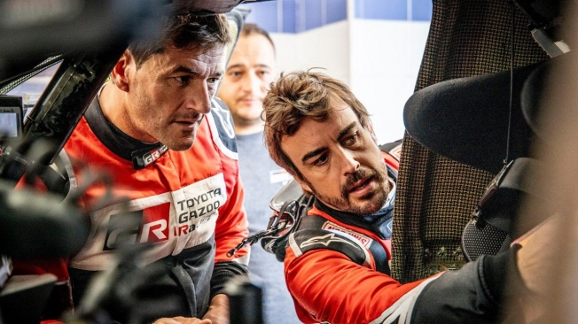 Marc Coma ocultó a Fernando Alonso la muerte de Paulo Gonçalves durante la etapa