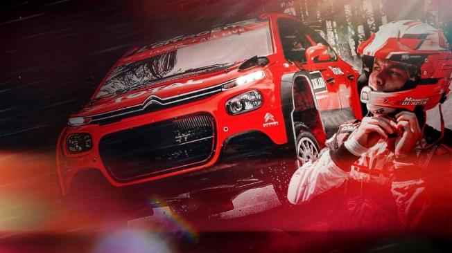 Marquito Bulacia correrá en WRC3 al volante de un Citroën C3 R5