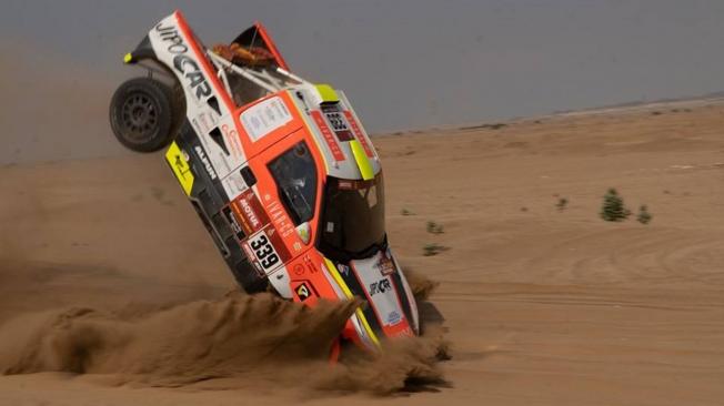 Martin Kolomy abandona el Dakar antes de empezar por accidente