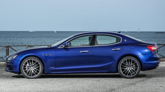 Maserati Ghibli - lateral