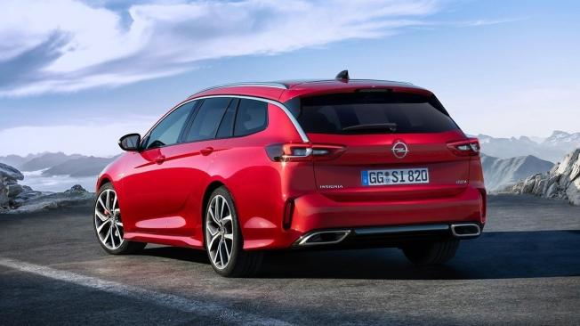 Opel Insignia GSi 2020 - posterior
