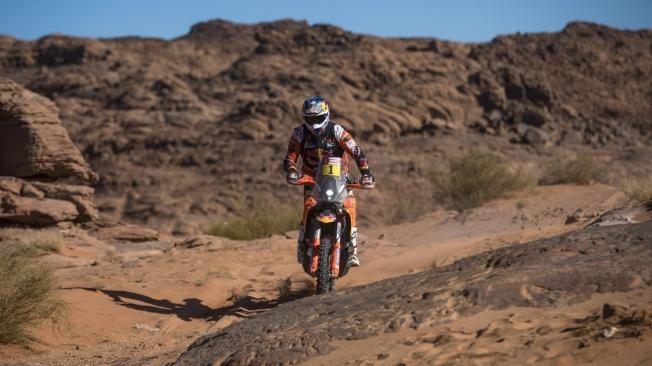 Pablo Quintanillia logra la primera victoria de Husqvarna en este Dakar