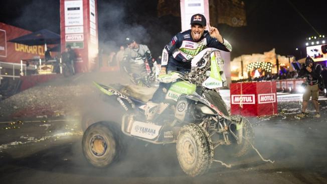 El paso atrás de Ignacio Casale para lograr su tercer Dakar en quads
