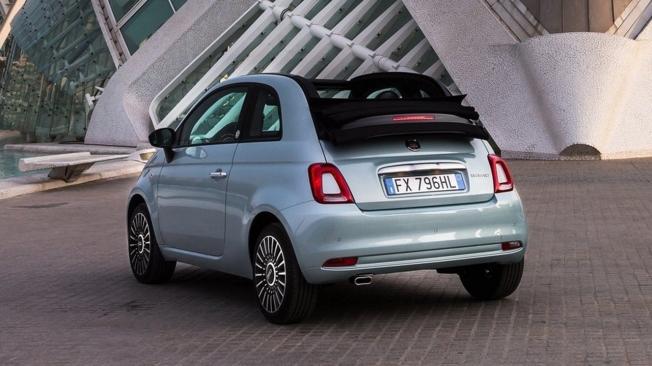 Fiat 500 Hybrid - posterior