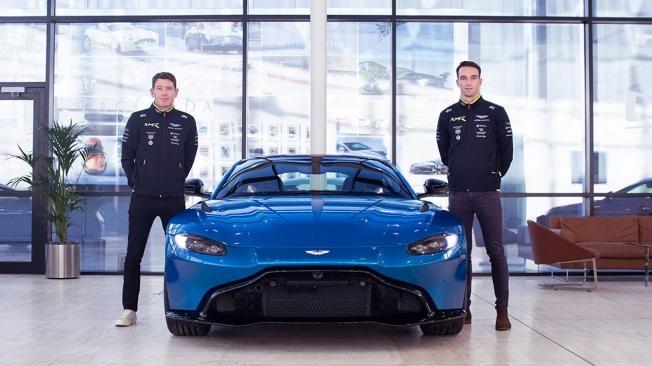 Tincknell y Westbrook completan la alineación de Aston Martin para Le Mans
