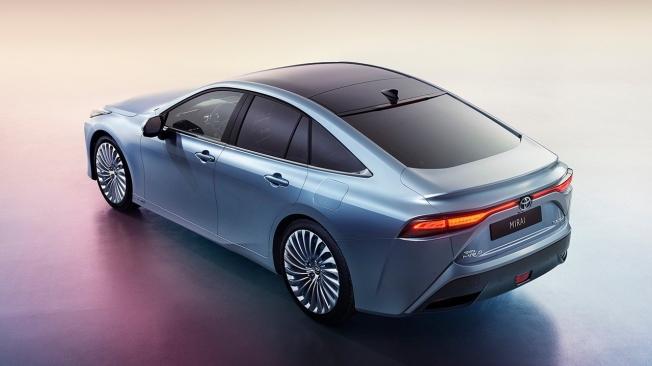 Toyota Mirai 2021 - posterior