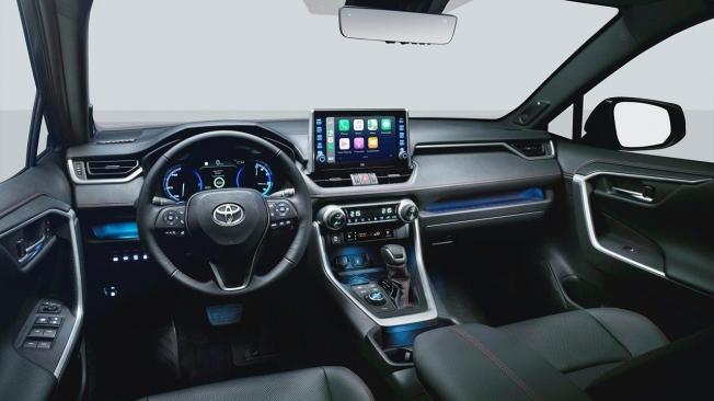 Toyota RAV4 Plug-in Hybrid - interior