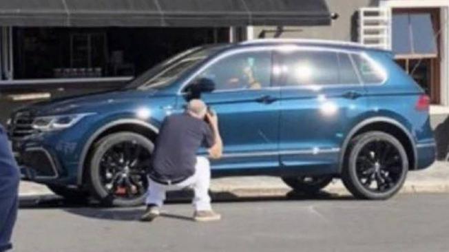 Volkswagen Tiguan 2020 - foto espía