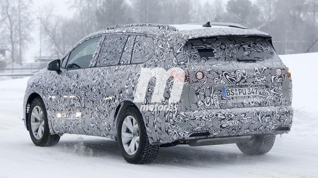 Volkswagen Variosport - foto espía posterior