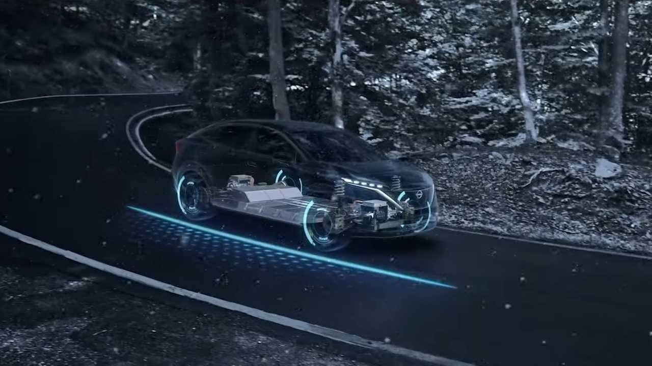 """Nissan desvela la tecnología """"e-4ORCE"""" de tracción total para eléctricos"""